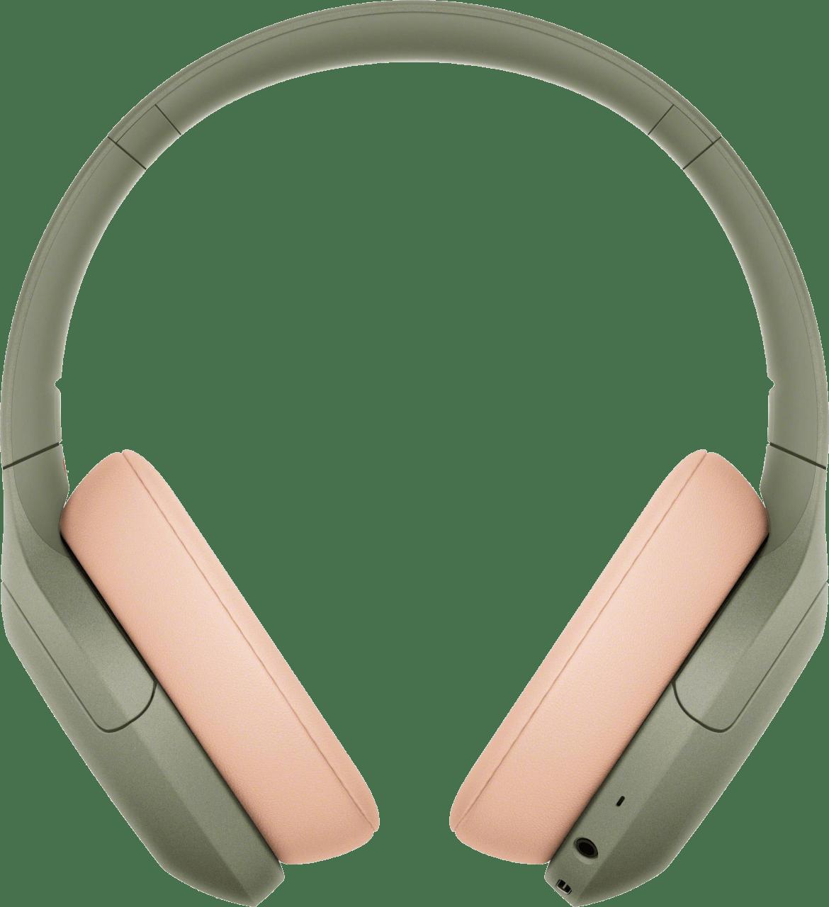 Green Sony WH-H910N Over-ear Bluetooth Headphones.3