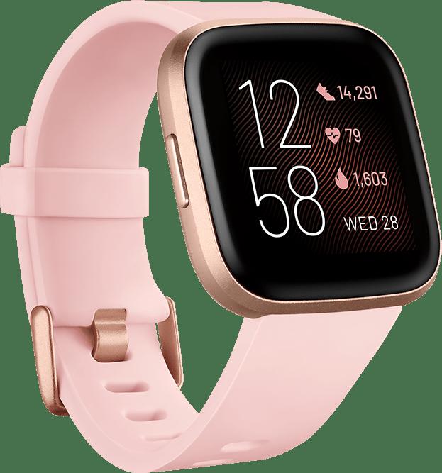 Blütenblatt Fitbit Versa 2 Smartwatch.1