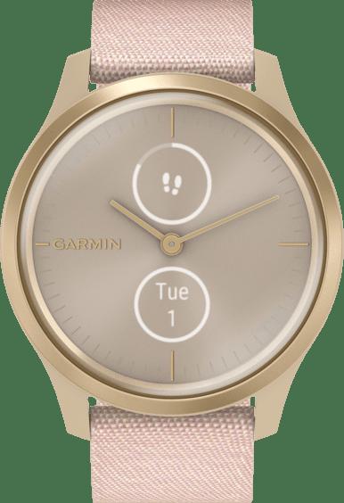Erröten Rosa Garmin Vivomove Style Armbanduhr.1