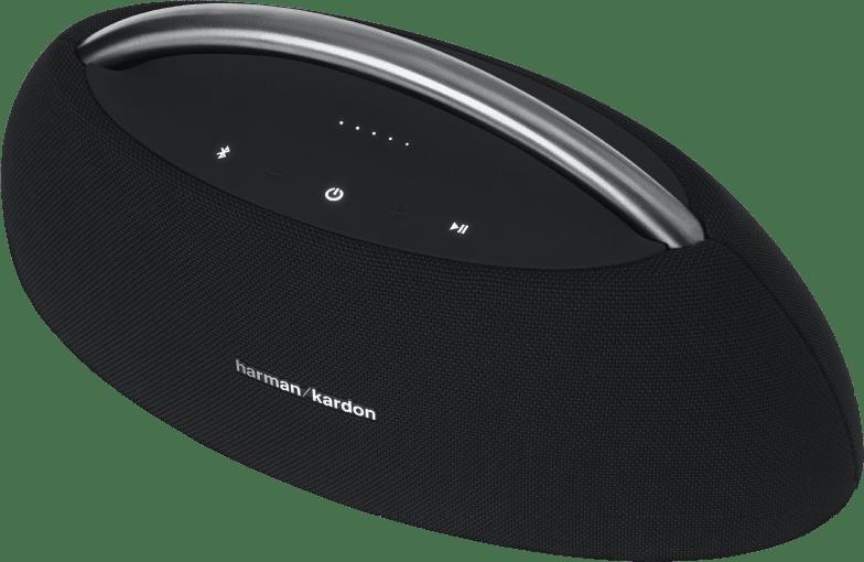 Black HARMAN KARDON GO + PLAY Bluetooth speaker.4