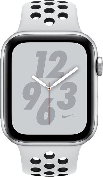 Silver Sports Apple Watch Nike+ Series 4 GPS+Cell, 40mm Aluminium case, Sport loop / band.1