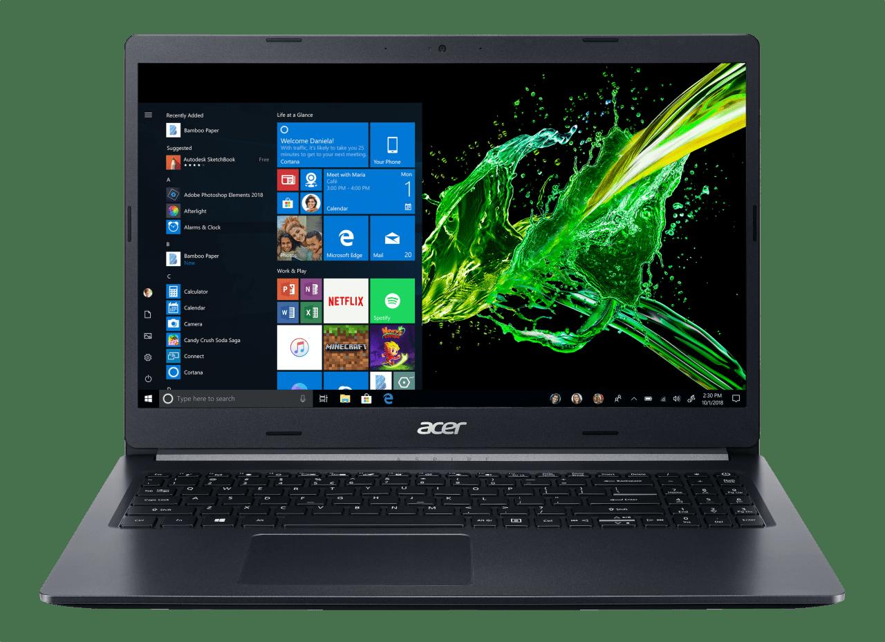 Black Acer Aspire 5.1