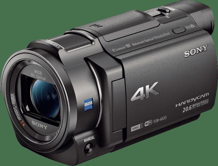 Black Sony FDR-AX33.1