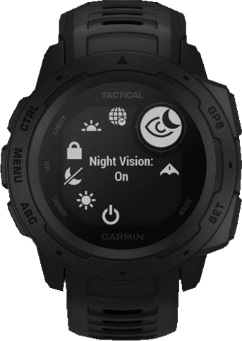Black Garmin Instinct® - Tactical Edition.4
