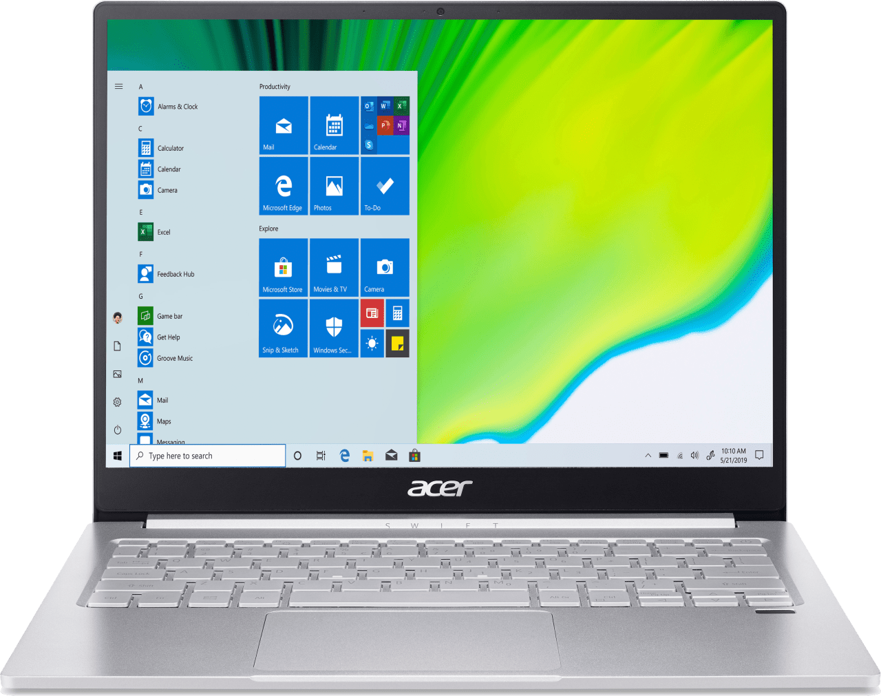 Silver Acer Swift 3 SF313-52-71Y7.1