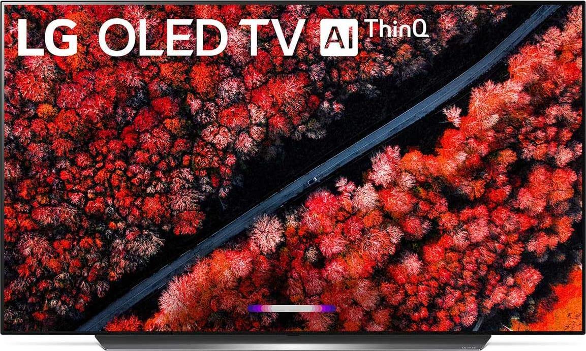 "Schwarz LG TV 65"" C9.1"
