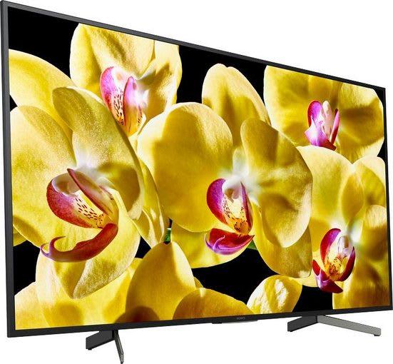 """Black Sony TV 49"""" XG80.2"""