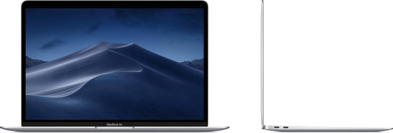 Silber Apple MacBook Air (Early 2020) Notebook - Intel® Core™ i3-1000NG4 - 8GB - 256GB SSD - Intel® Iris Plus Graphics.3
