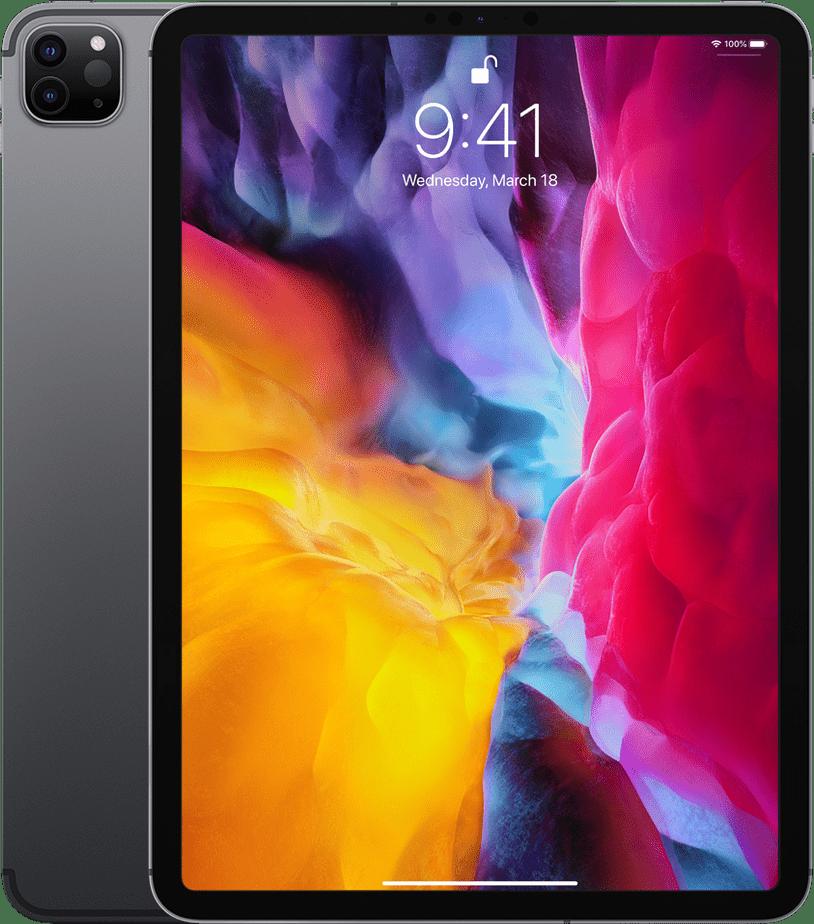 """Space Grey Apple 11"""" iPad Pro Wi-Fi + LTE 512GB (2020).1"""