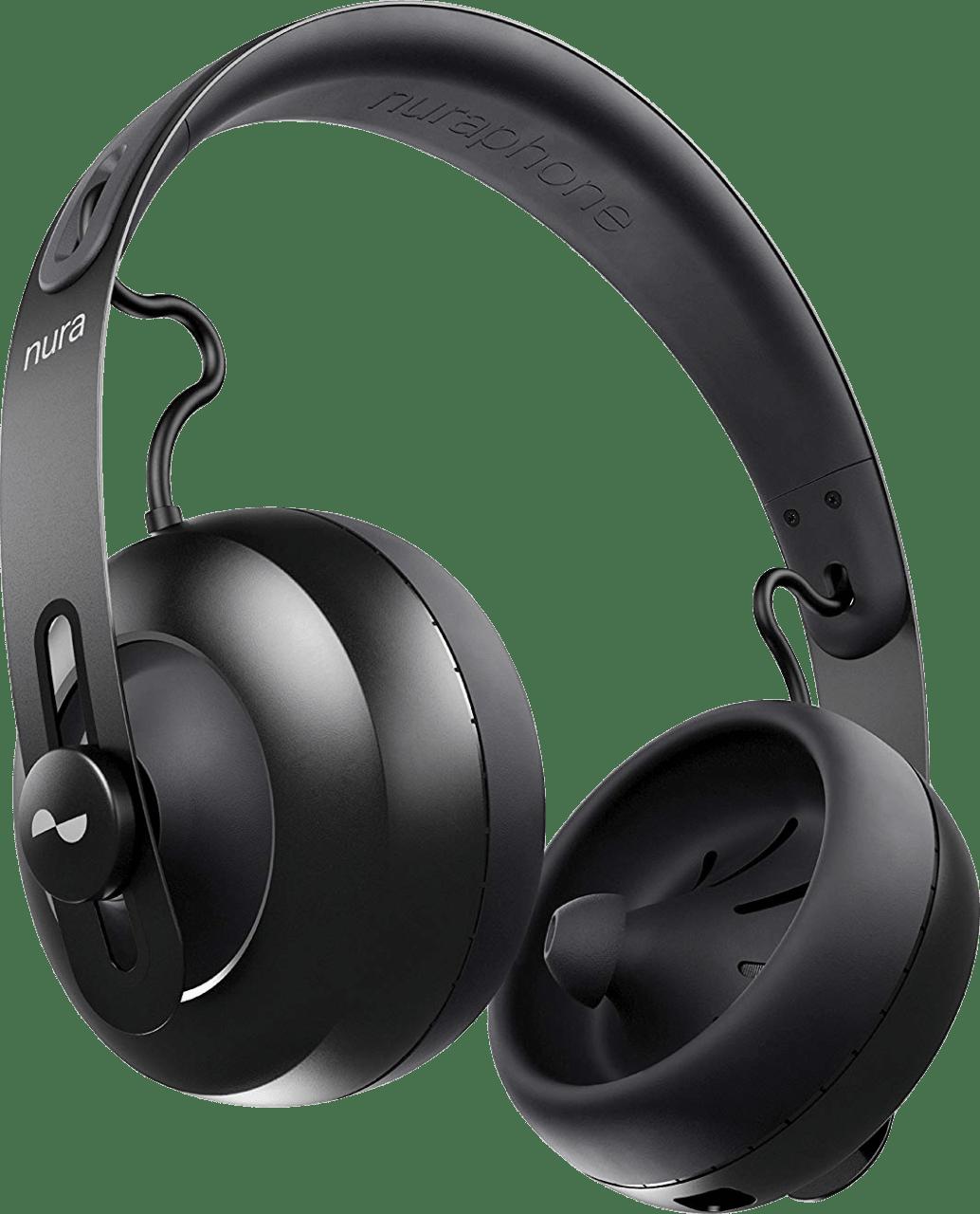 Black Nura Nuraphones Noise-Canceling Noise-cancelling Over-ear Bluetooth Headphones.3