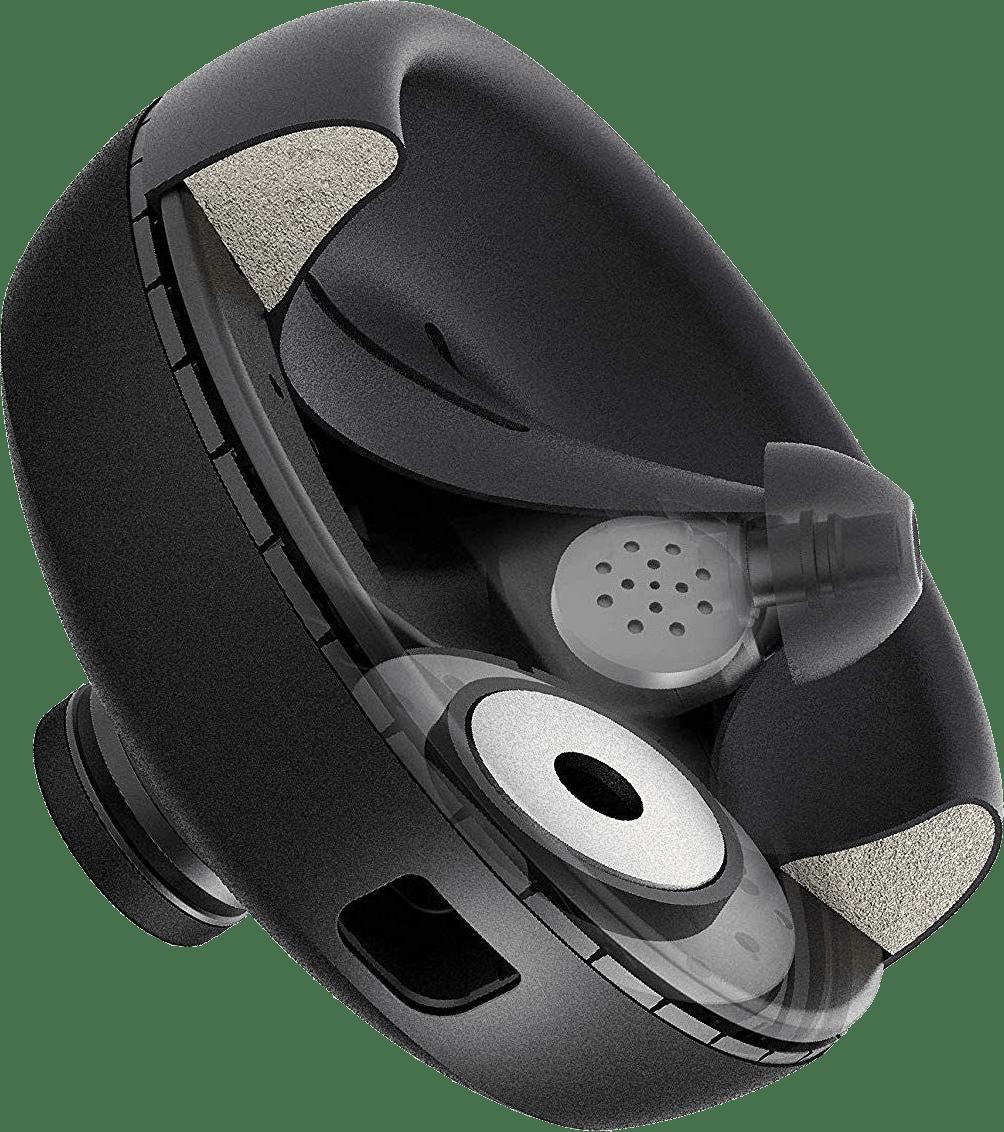 Black Nura Nuraphones Noise-Canceling Noise-cancelling Over-ear Bluetooth Headphones.4