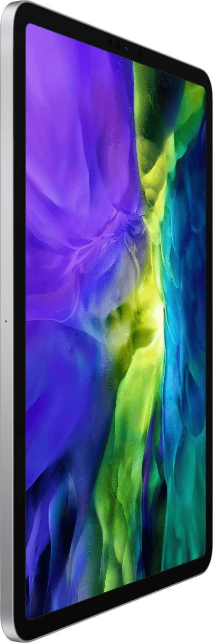 "Silver Apple 11"" iPad Pro Wi-Fi + LTE 128GB (2020).4"