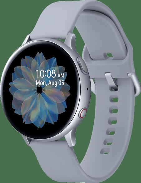 Plata Samsung Galaxy Watch Active2 LTE, 44mm Aluminium case, Fluororubber Strap.4