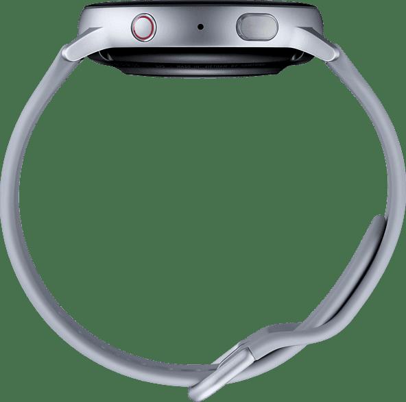 Plata Samsung Galaxy Watch Active2 LTE, 44mm Aluminium case, Fluororubber Strap.3
