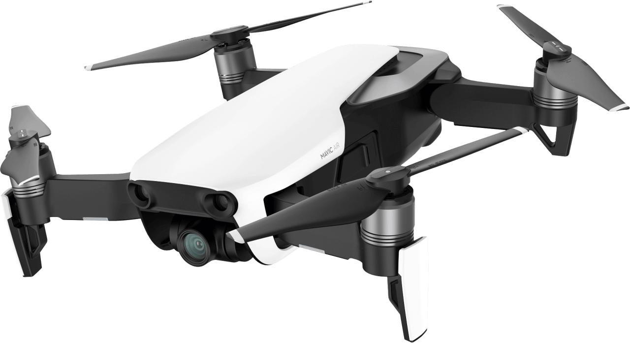 White DJI Mavic Air Fly More Combo.1