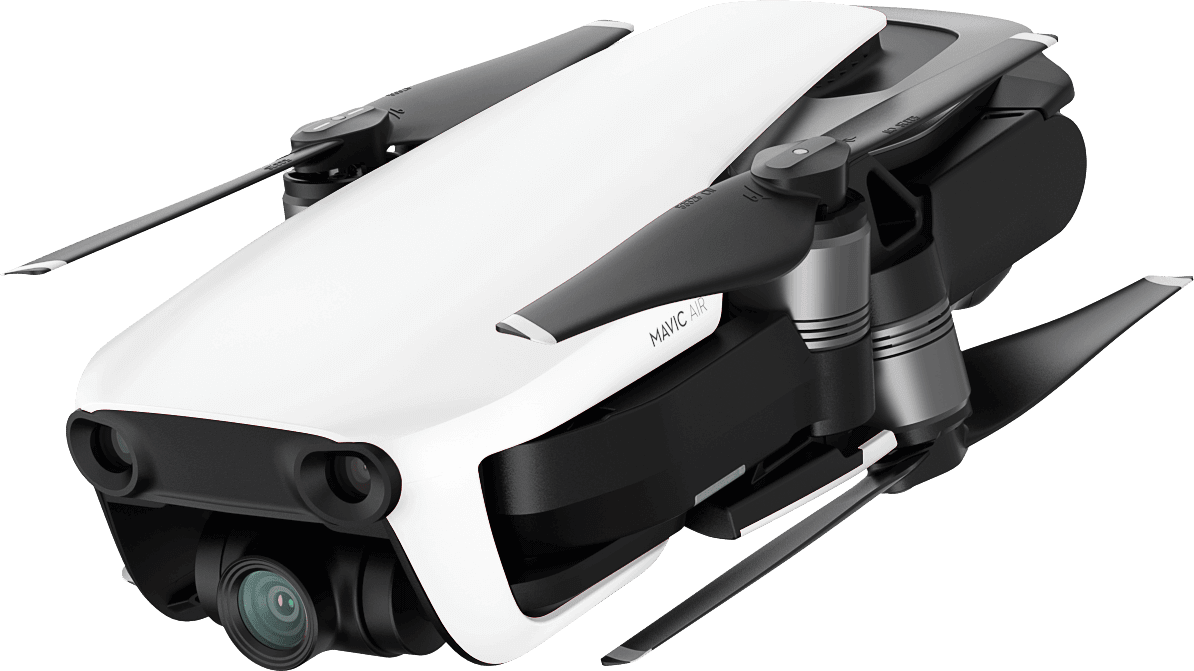 White DJI Mavic Air Fly More Combo.3