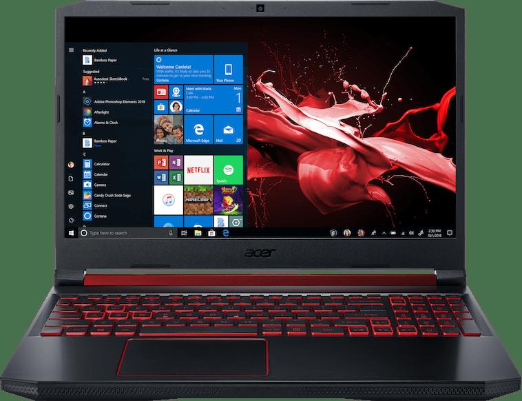 Black / Red Acer Nitro 5 AN515-43-R5KH.1