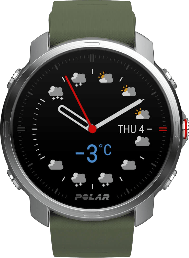 Green Polar Grit X GPS Sports watch, M/L.1