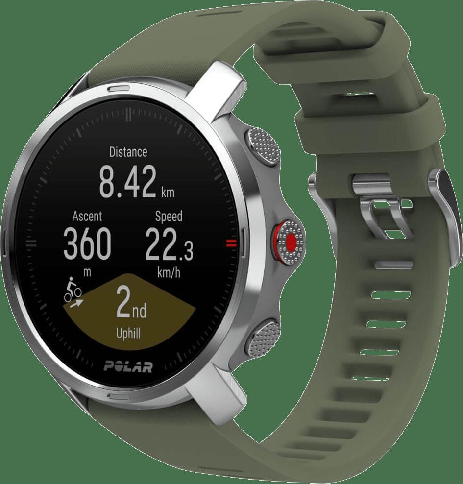 Green Polar Grit X GPS Sports watch, M/L.3