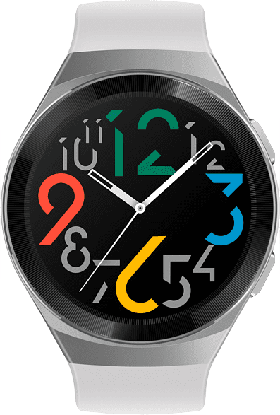 Icy white Huawei Watch GT 2e, 46 mm.2