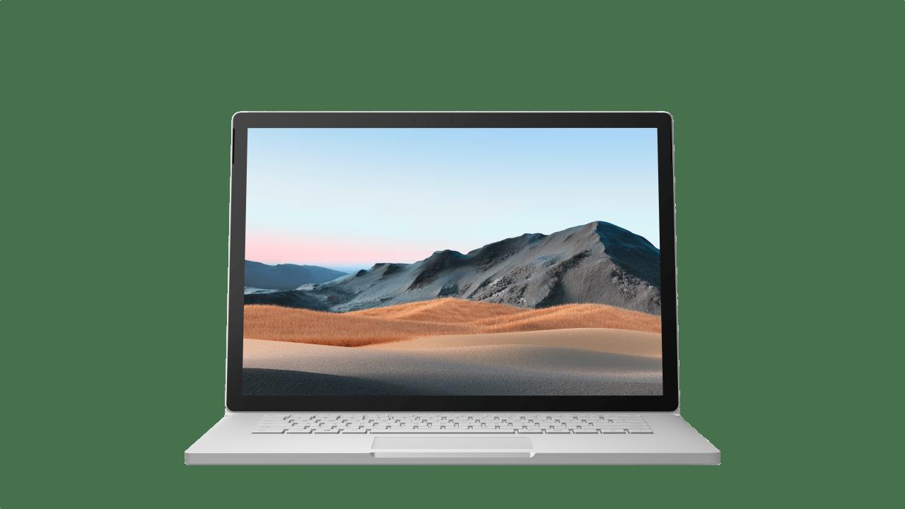 "Platinum Microsoft Surface Book 3 13.5"".4"