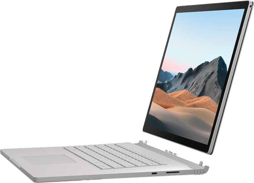 "Platin Microsoft Surface Book 3 13.5"".3"