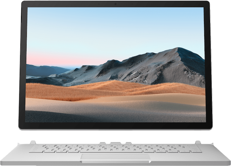 "Platinum Microsoft Surface Book 3 15"".1"