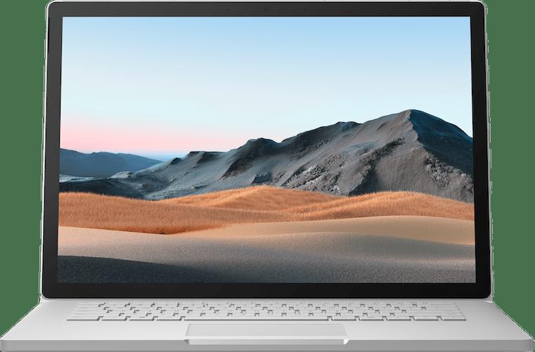 """Platin Microsoft Surface Book 3 15"""".2"""