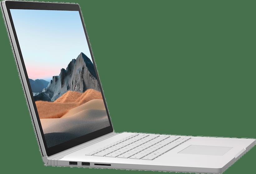 """Platin Microsoft Surface Book 3 15"""".5"""