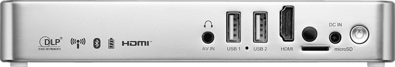 Weiß Vivitek Qumi Q3 Plus.3
