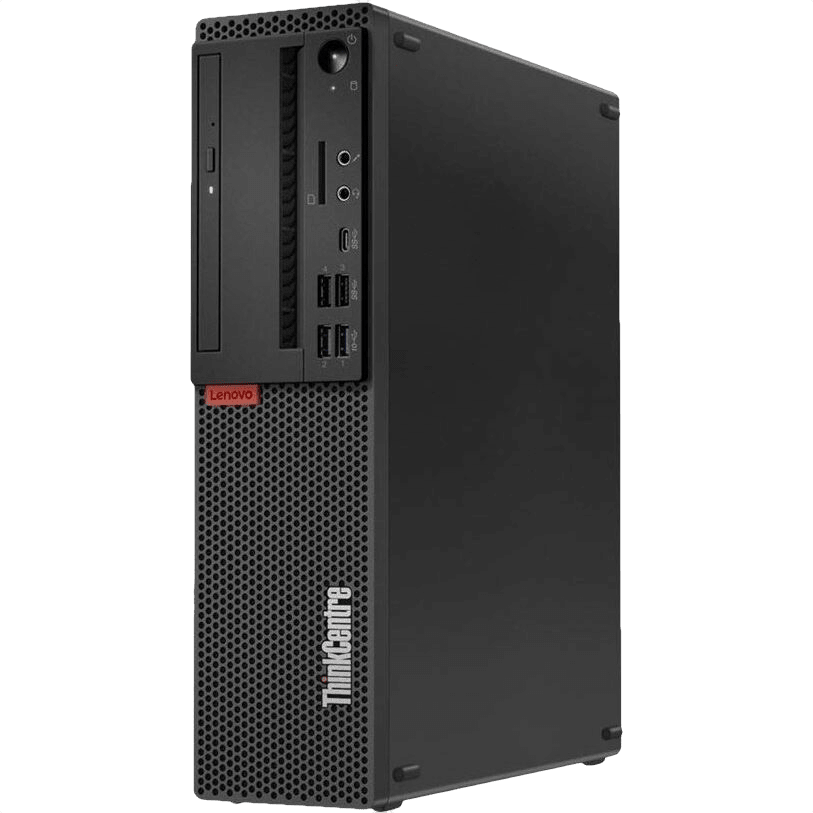 Black Lenovo M720s Desktop - Intel® Core™ i5-9400 - 8GB - 256GB SSD - Intel® UHD Graphics 630.2