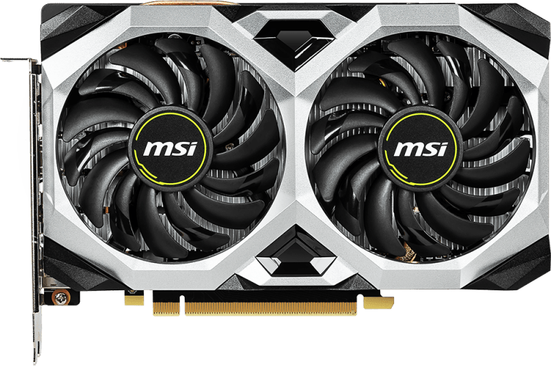 Black MSI Radeon RX 5500 XT.1