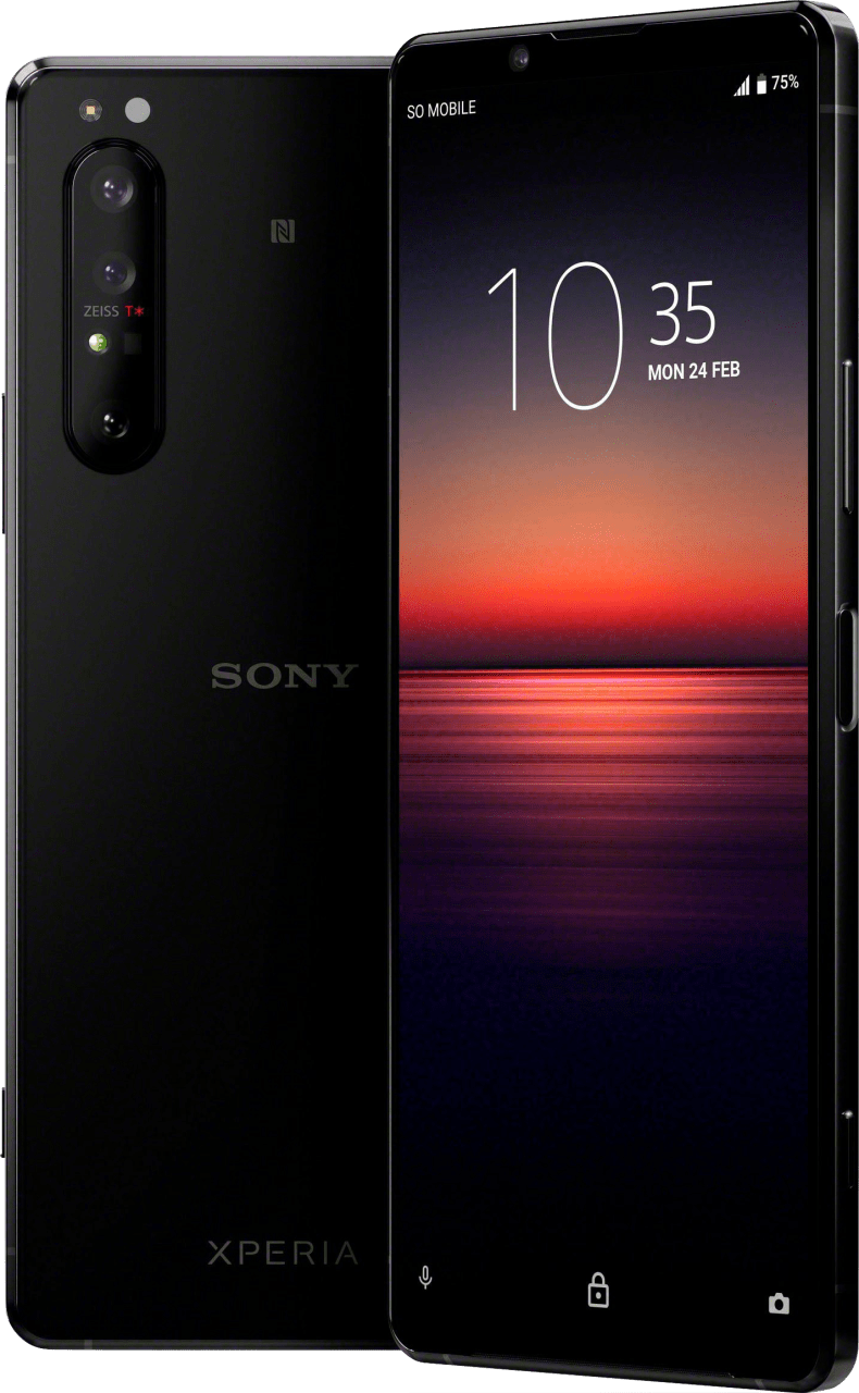 Black Sony Xperia 1 II 256GB.1