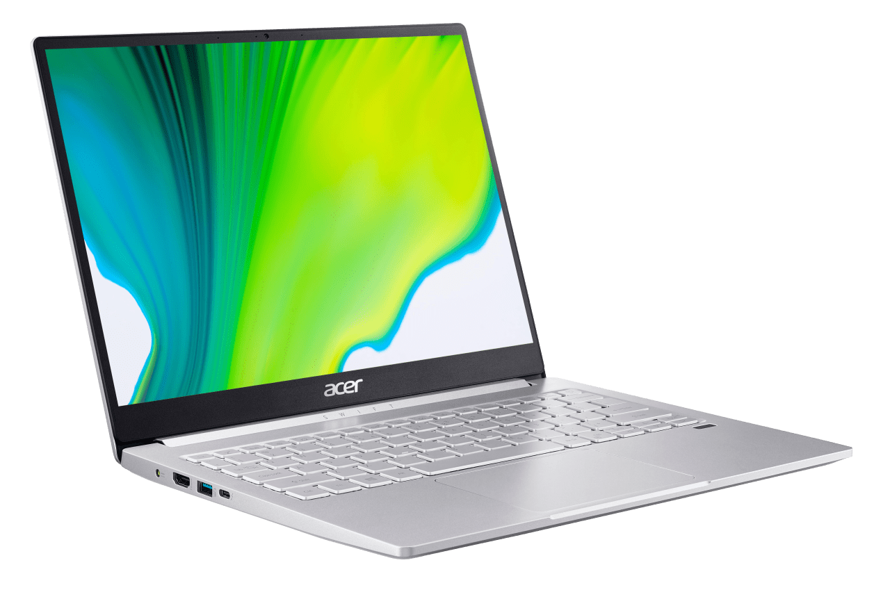 Silver Acer Swift 3 SF313-52-5882.4