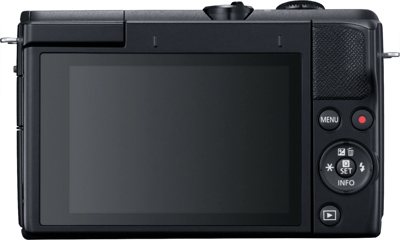 Schwarz Canon EOS M200 Kit (EF-M 15 - 45mm Lens).3