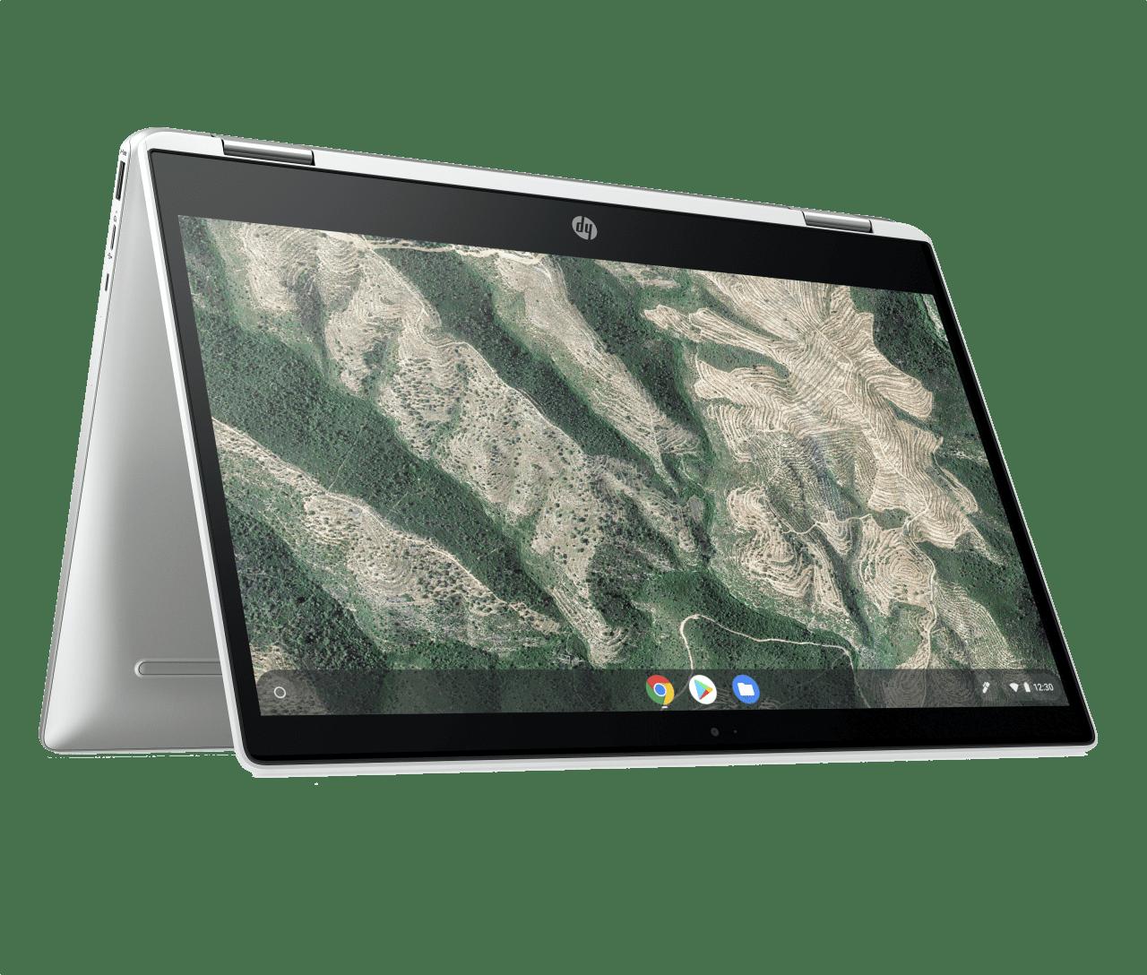 Natural Silver HP Chromebook 14b-ca0250ng Laptop - Intel® Pentium® Silver-N5000 - 8GB - 128GB eMMC - Intel® UHD Graphics.1