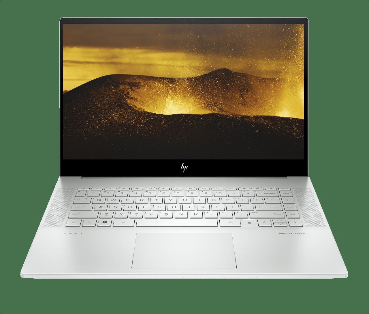 Natural Silver HP Envy Creators 15-ep0060ng Laptop - Intel® Core™ i7-10750H - 16GB - 1TB PCIe - NVIDIA® GeForce® GTX™ 1660 Ti.1