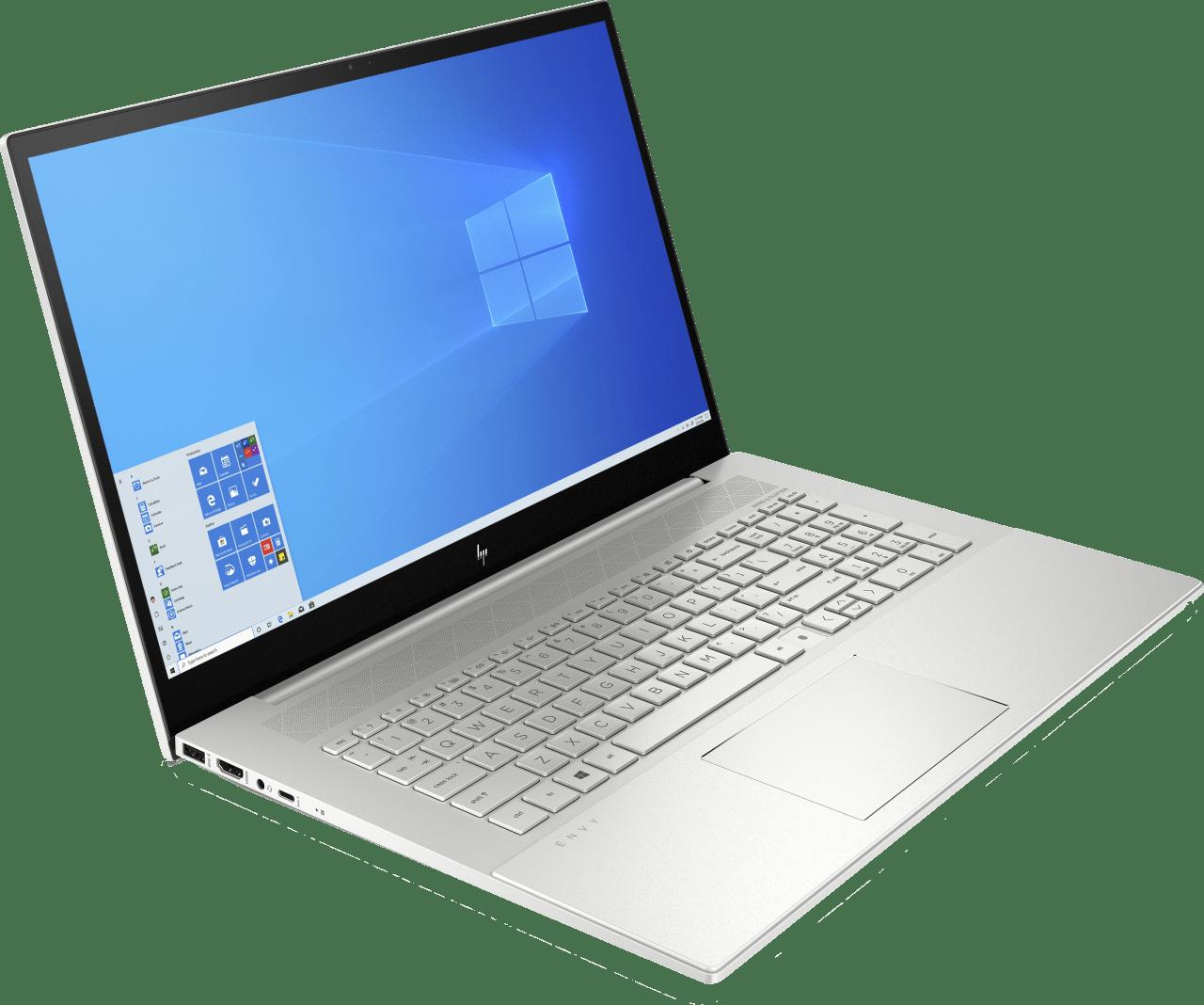 Natural Silver HP Envy 17-cg0220ng Notebook - Intel® Core™ i7-1065G7 - 16GB - 1TB PCIe - NVIDIA® GeForce® MX330.4