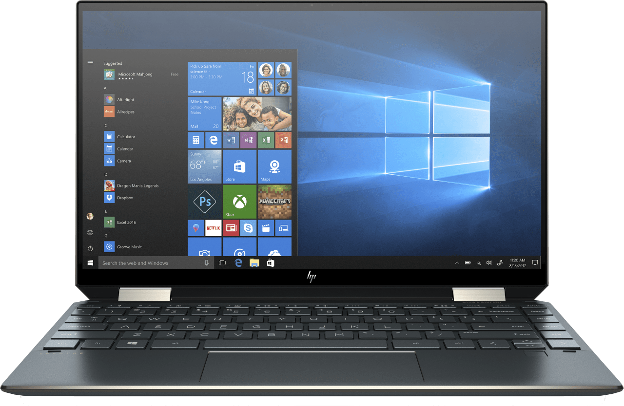 Poseidon Blue HP Spectre x360 13-aw0031ng Convertible - Intel® Core™ i7-1065G7 - 16GB - 1TB PCIe - Intel® Iris® Plus Graphics.3