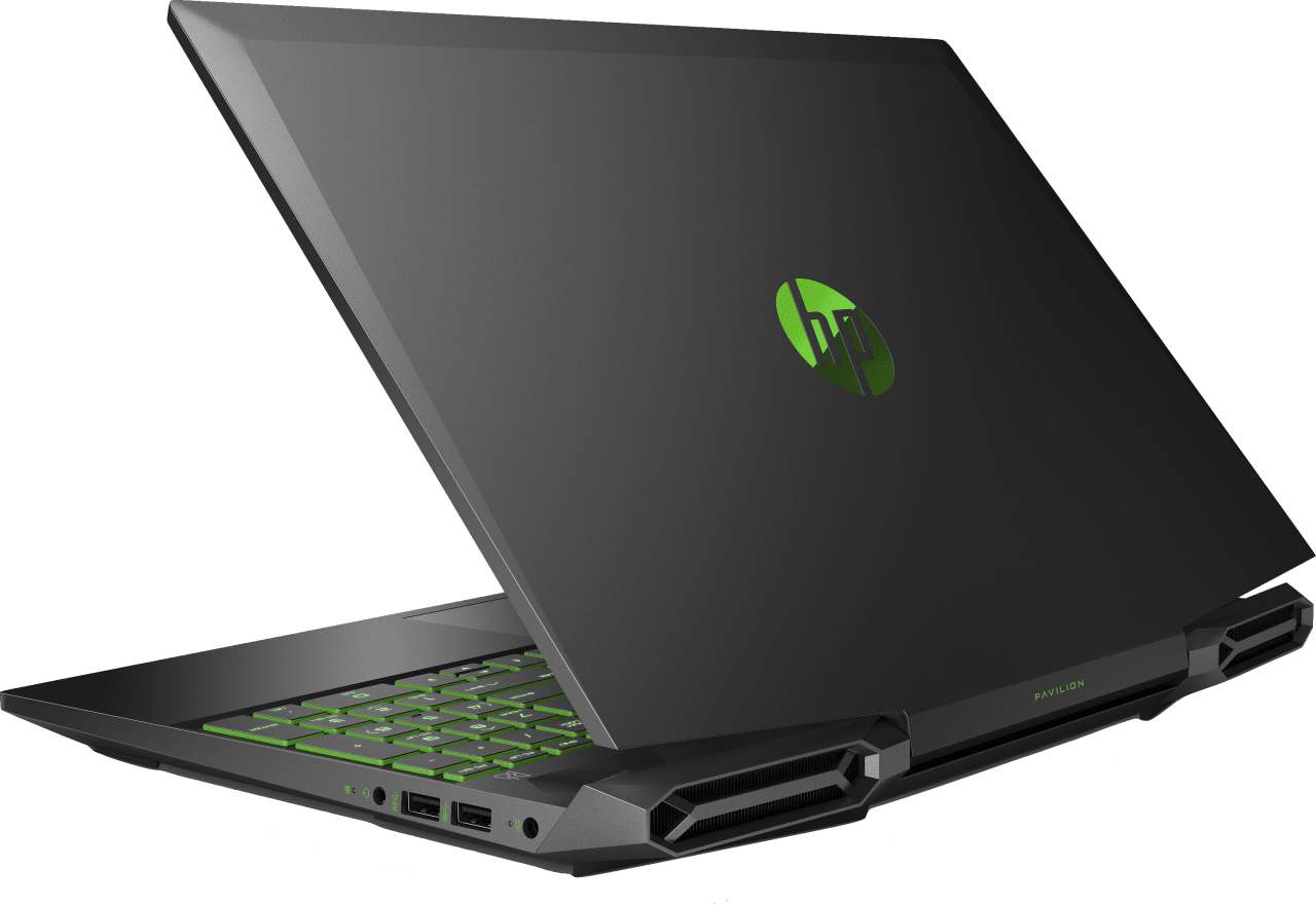 Shadow Black / Acid Green HP Pavilion Gaming 15-dk1247ng.2