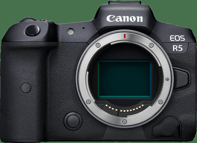 Black Canon EOS R5 Body.1