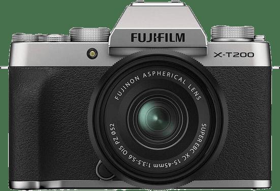 Silber FUJIFILM X-T200 (XC 15-45mm Lens).1