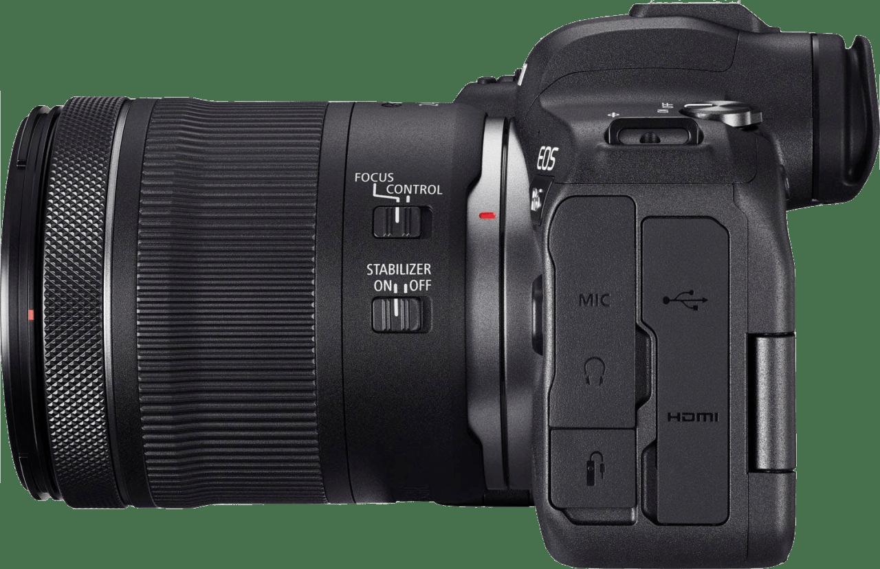 Black Canon EOS R6 + RF 24 - 105mm Lens Kit.3