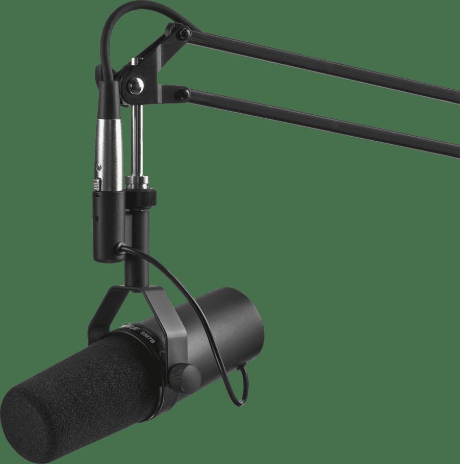 Black Microphone Shure SM7B.3