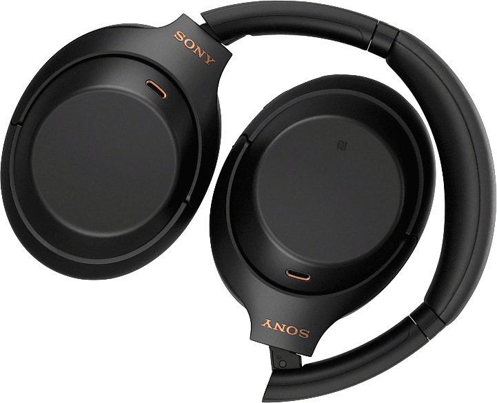 Schwarz Sony WH-1000 XM4 Noise-cancelling Over-ear Bluetooth Headphones.3