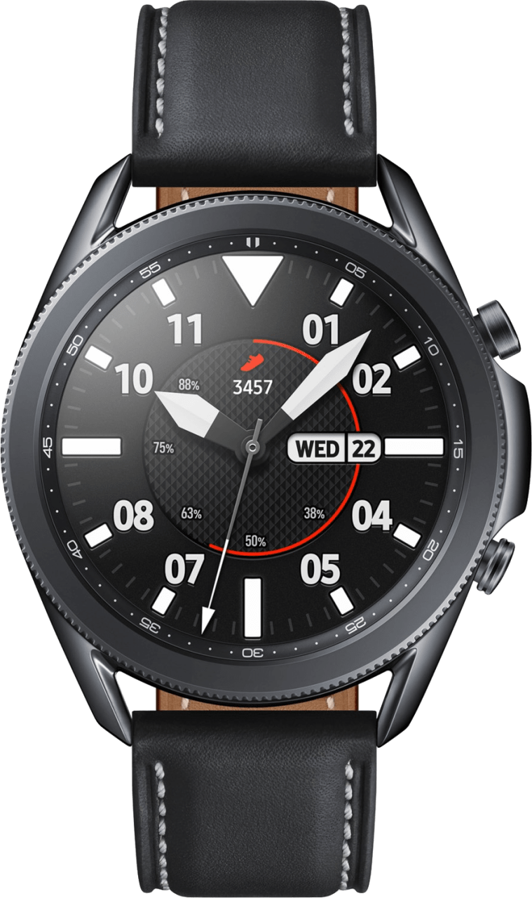 Mystic Black Samsung Galaxy Watch 3, 45mm.3