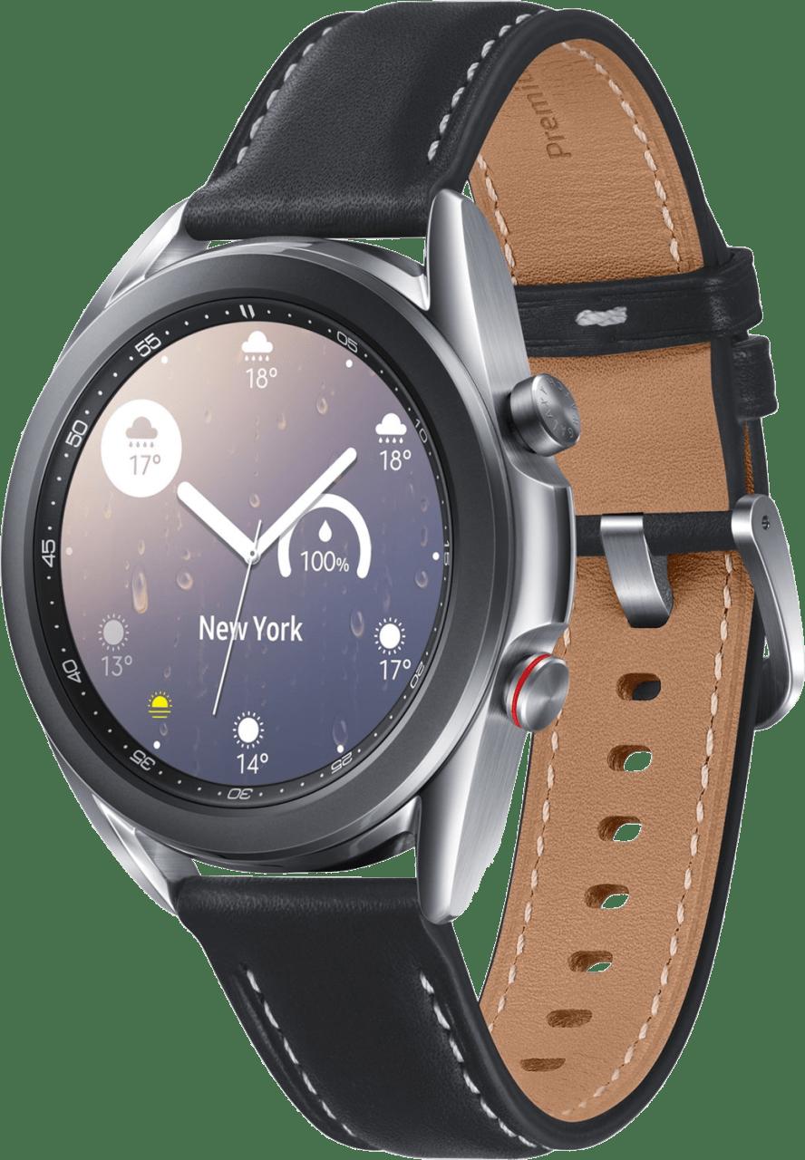 Mystic Silver Samsung Galaxy Watch 3 (LTE), 41mm.1