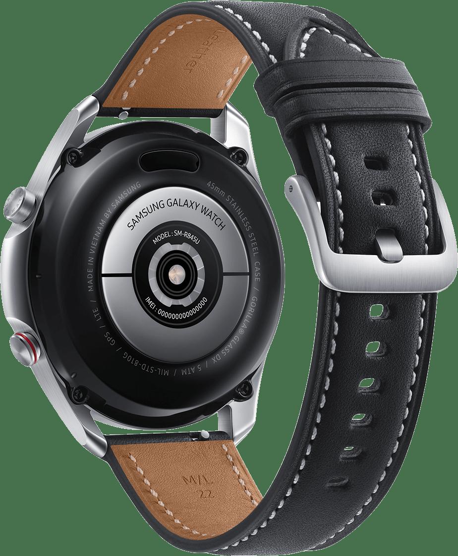 Mystic Silber Samsung Galaxy Watch 3 (LTE), 45mm.3
