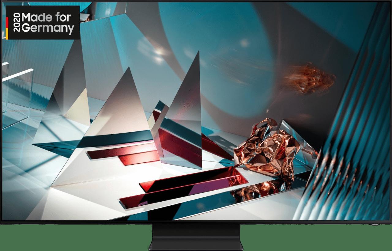 "Black Samsung TV 65"" Q800T.1"