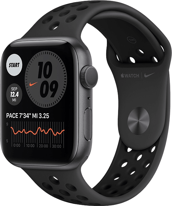 Anthracite/black Apple Watch Nike Series 6 GPS, 40mm Aluminium case, Sport band.1